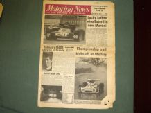 MOTORING NEWS 1975 Mar 13 Laffite wins in F2, Mallory F Atlantic & BTCC, Lyon Rally